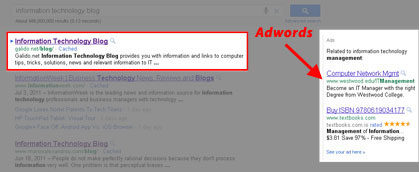 adwords How to improve my website rankings